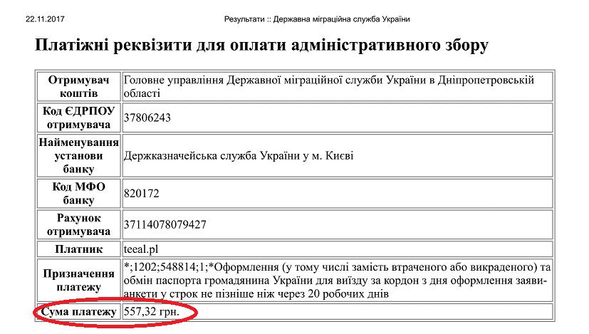 Результати Державна міграційна служба України 1