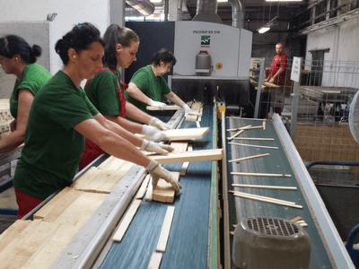 Работа в Польше, Работник дервообрабатывающего завода