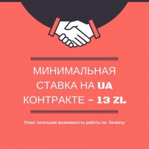 Минимальная зарплата в Польше