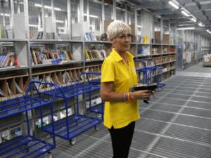 Работа в Польше, упаковка книг