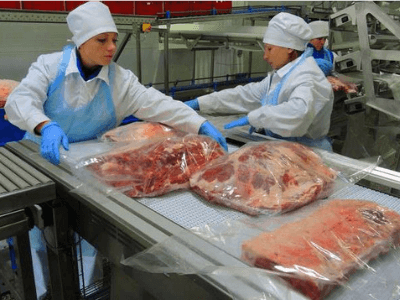 Упаковка мяса TRISTON