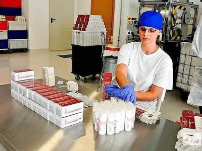 Упаковка бытовой химии в Польше