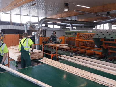 Работы с деревянной садовой архитектуры, FOREST STYLE