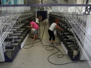 работа на производстве нитей в Польше