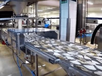 Переработка рыбы. ESPERSEN