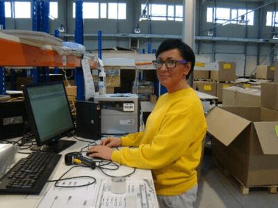 Spedimex – Работа на складе одежды в Польше