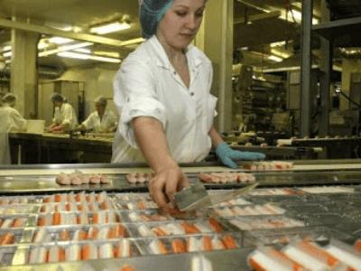 производстве крабовых палочек, LUCKY FOOD