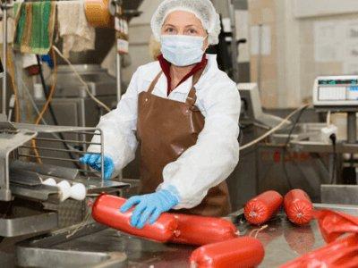 Помощник на производстве колбас - упаковщик, SILESIA