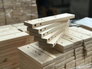 Работа с деревянными деталями BAMPTON