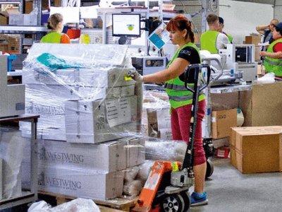 Работа на складе интернет магазина, WESTWING