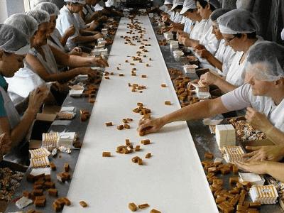 Упаковка конфет и печенья, ZPC MILANÓWEK